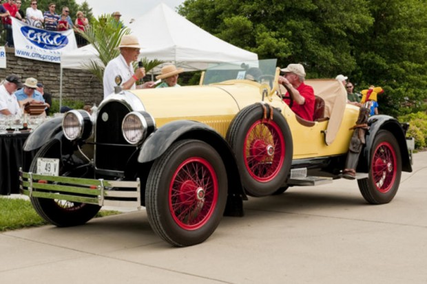 <strong>Founder's Trophy </strong> 1925 Kissel Gold Bug Speedster, Herb L. Krombholz, Cincinnati, OH