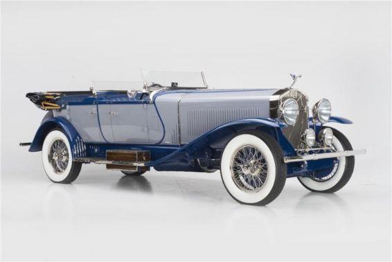 1927 Isotta Fraschini Lebaron 8A S Dual Cowl