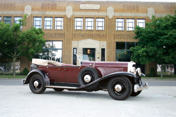 <strong>1927 Duesenberg Model Y Phaeton – Estimate Unavailable.</strong> One and only Model J Prototype; prompted E.L. Cord to say, 'Let's build 500 of these new Model J's!'; Coachwork by McFarlan.