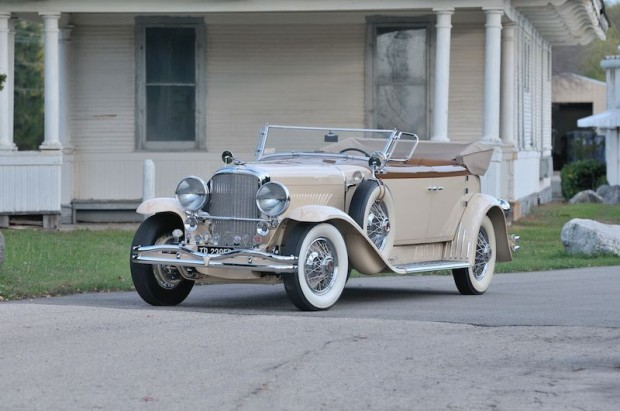 1930 Duesenberg Model J Torpedo Berline Convertible