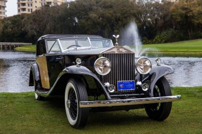 Best of Show Concours d'Elegance - 1930 Rolls-Royce Phantom II Town Car (photo: Nathan Deremer)
