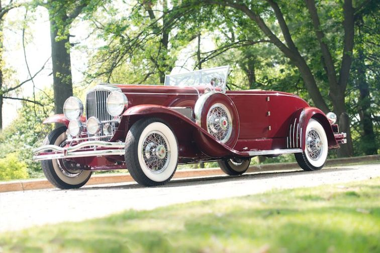1931 Duesenberg Model SJ Convertible Coupe by Murphy