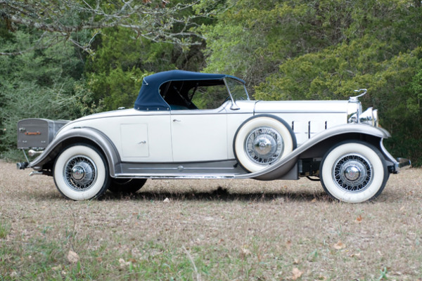 <strong>1931 Cadillac V12 Series 370-A Rumble Seat Roadster – Estimate $180,000 - $220,000.</strong> From the Sterling McCall Cadillac Museum Collection.