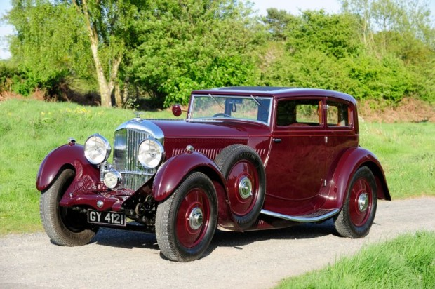 1931 Bentley 8 Litre Sportsman's Coupe, Body by after Gurney Nutting