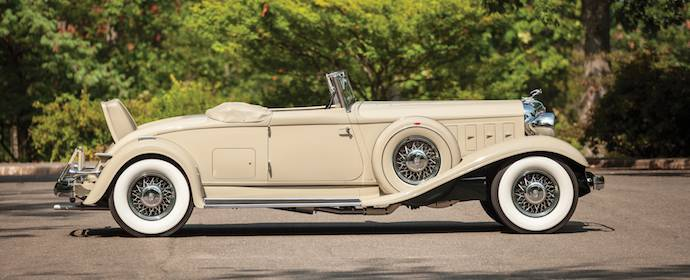 1933 Chrysler CL Imperial Convertible Roadster by LeBaron