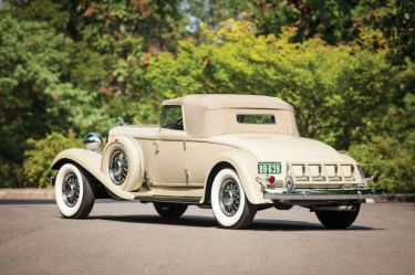 1933 Chrysler CL Imperial Convertible Roadster Rear