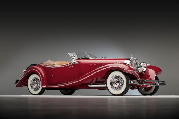 1935 Mercedes-Benz 500 K Roadster - Chassis 105380