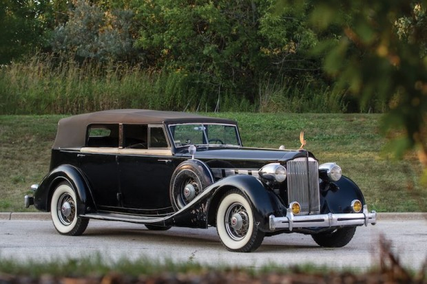 1935 Packard Super Eight Convertible Sedan
