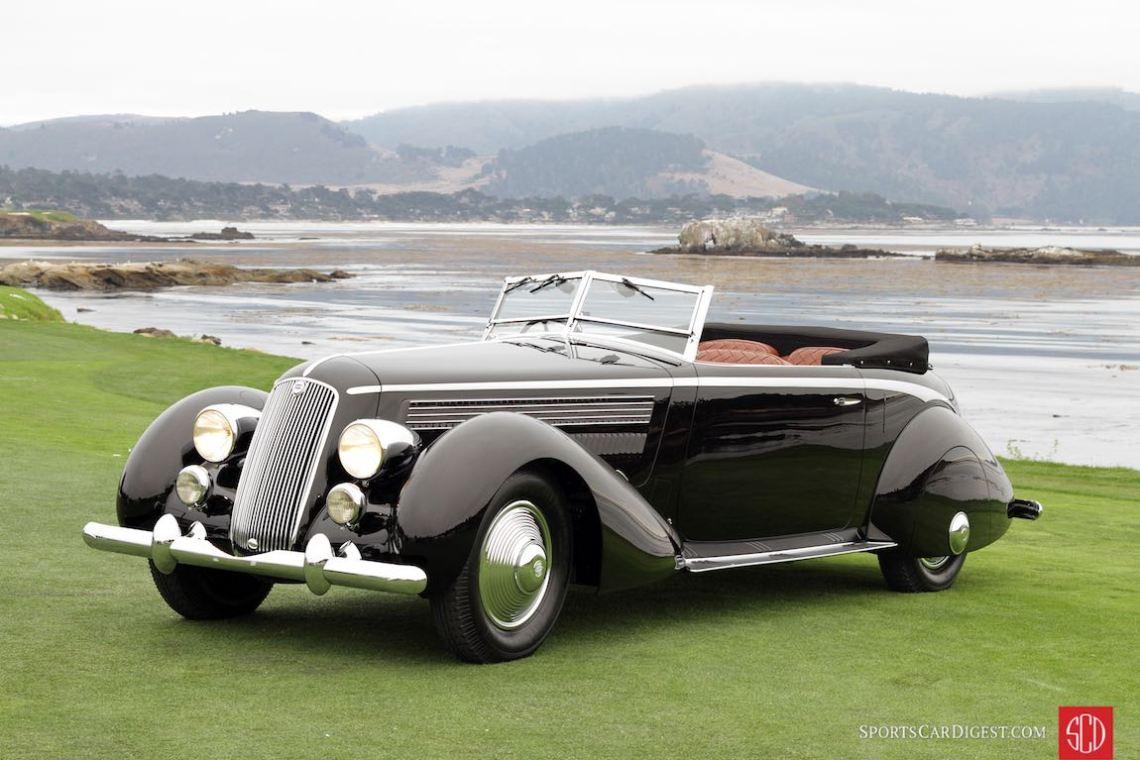 Best of Show Winner - 1936 Lancia Asturia Pinin Farina Cabriolet