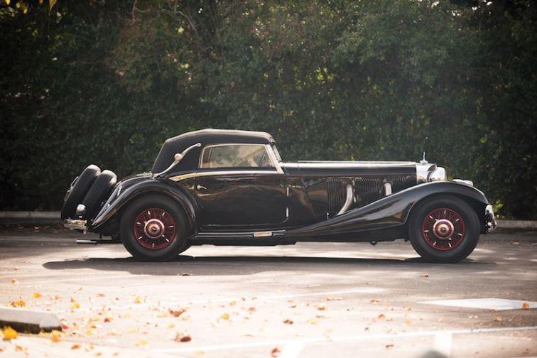 1936 Mercedes-Benz 540 K Cabriolet A (photo: Darin Schnabel)