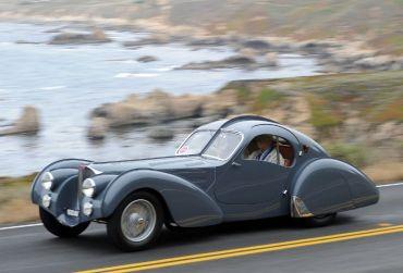 1937 Bugatti Type 57S - Pebble Beach Tour d'Elegance 2010