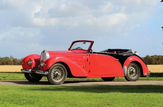 1938 Bugatti 57C Stelvio Drophead Coupe for sale