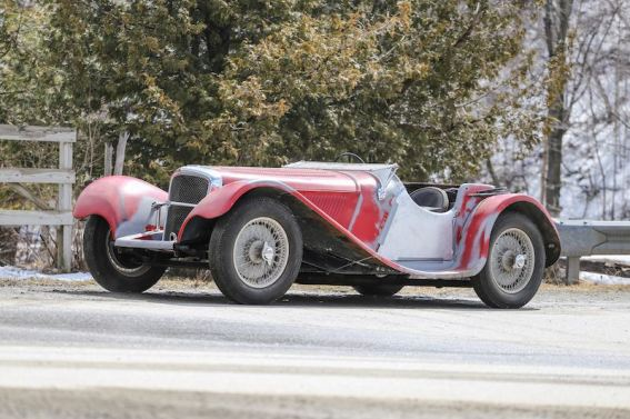 1938 Jaguar SS100 (photo: Pawel Litwinski)