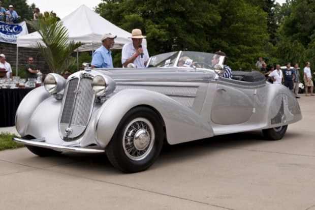 <strong>William K. Victor Best of Show </strong>1938 Horch 853 Erdmann & Rossi Special Roadster, Joseph Cassini, West Orange, NJ