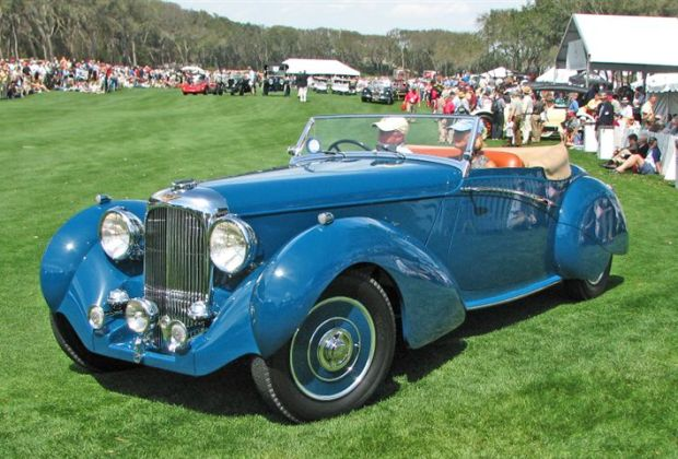 1938 Lagonda LG6 Rapide Drop Head Coupe