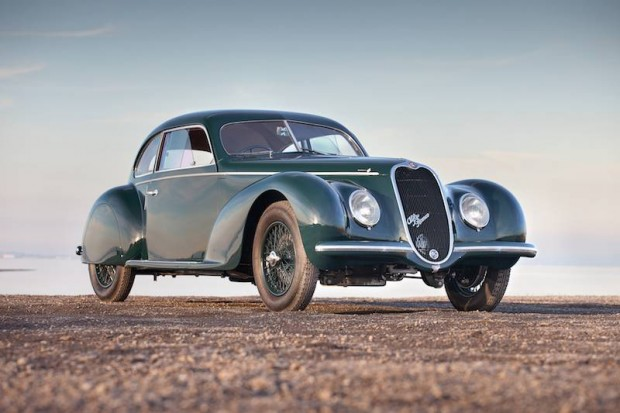 1939 Alfa Romeo 6C 2500 Sport Berlinetta bodied by Touring