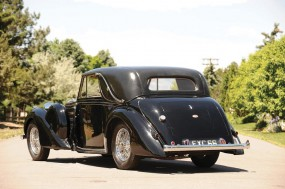 <strong>Lot 267 - 1939 Bugatti Type 57C Faux Cabriolet 'Charmaine' - Estimate $450,000-$650,000. </strong>Original chassis plate and all of its original components; one-off James Young Faux Cabriolet coachwork.