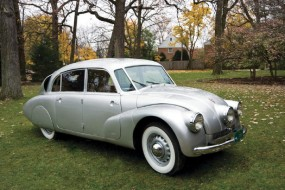 <strong>Lot 238 - 1946 Tatra T87 Sedan - Estimate £75,000-£95,000.</strong>