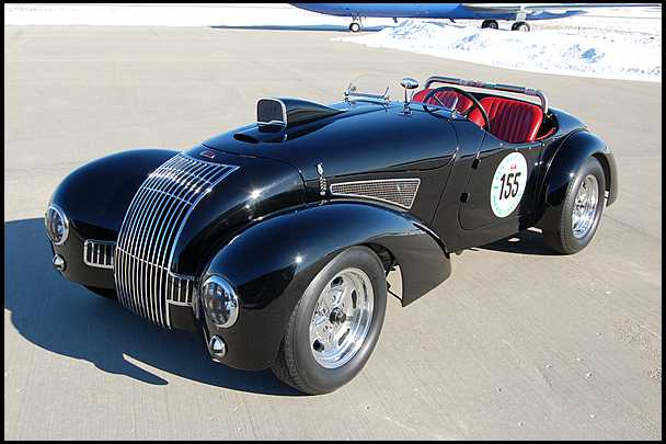 <strong>1947 Allard K1 Roadster</strong> – 1993 Mille Miglia Participant
