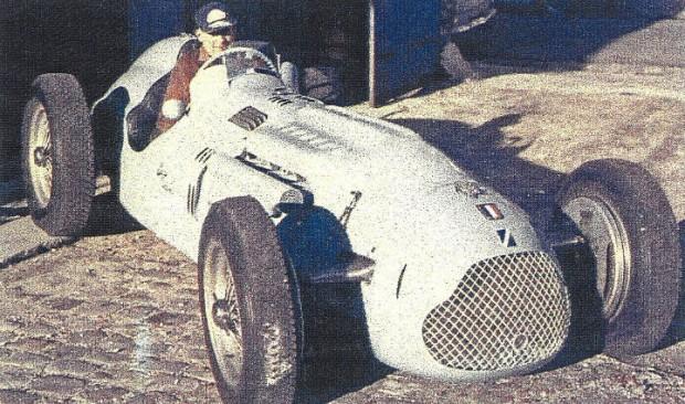 Ex-Jacques Swaters, Ecurie Belgique 1948 Talbot-Lago T26C