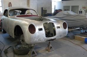 1949 Maserati A6 1500 LM under restoration