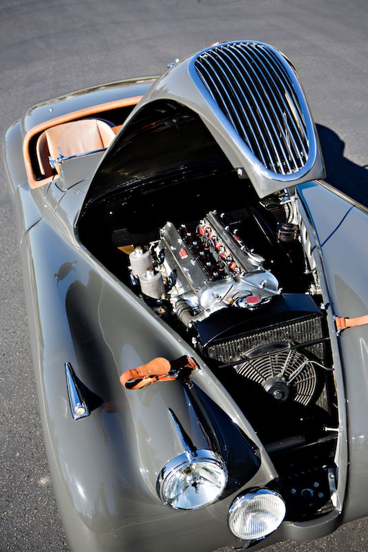 Engine, 1949 Jaguar XK120 Alloy Roadster