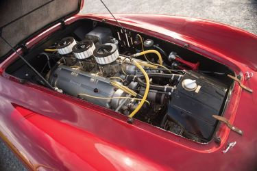 1950 Ferrari 275S-340 America Barchetta Engine (photo: Darin Schnabel)