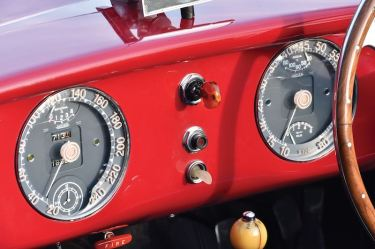 1952 Ferrari 212 Export Barchetta Gauges