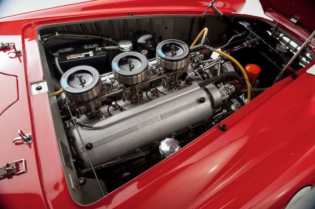 1952 Ferrari 340 Mexico Berlinetta Engine