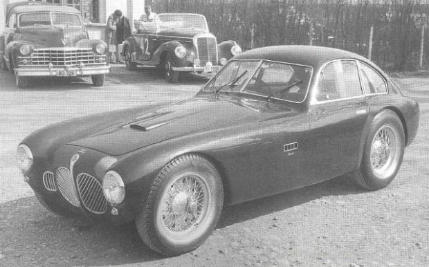 1952 OSCA V12 Coupe Zagato