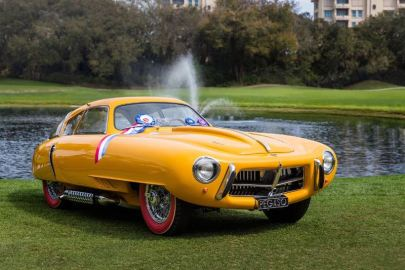 Best in Show Concours de Sport - 1952 Pegaso Z-102 BS 2.5 Cupula Coupe (photo: Nathan Deremer)