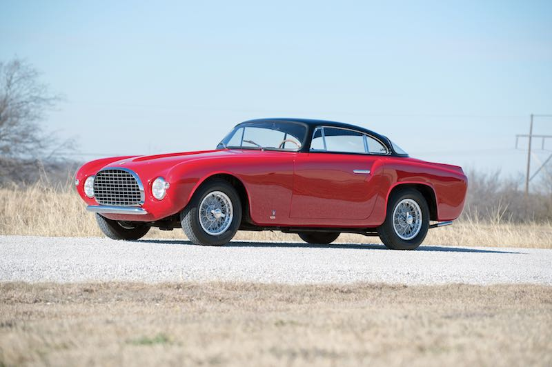 1953 Ferrari 212 Europa Coupe by Vignale (photo: Glenn Zanotti)