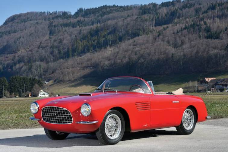 1953 Fiat 8V Cabriolet by Vignale (photo: Tim Scott)