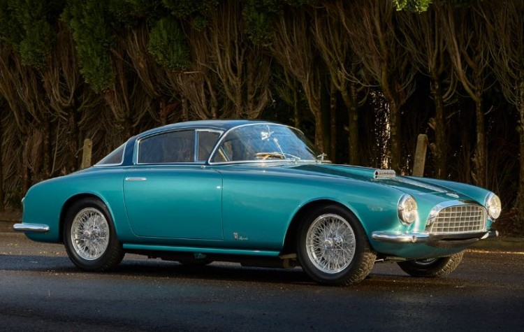 1953 Fiat 8V Vignale Coupe (photo: Matthew Howell)