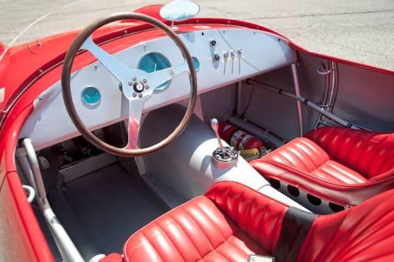 1953 Maserati A6GCS-53 Spider Interior