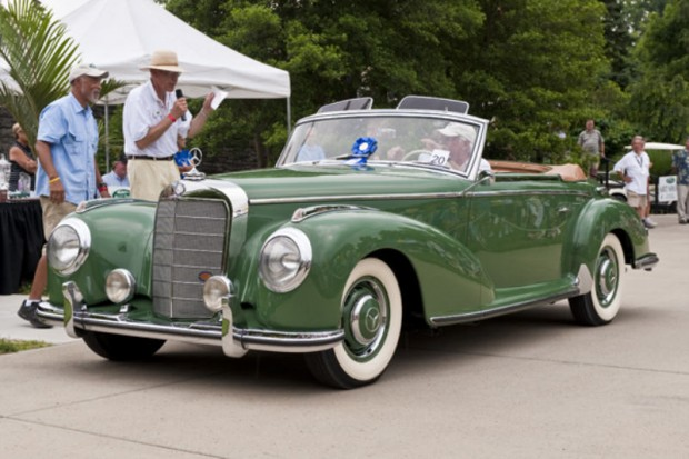 <strong>Feature Marque – German Post-War Touring, 1946 – 1975, Sponsored by Precision Motor Cars </strong> 1953 Mercedes-Benz 300S Roadster, David Stitzer, Warminster, PA