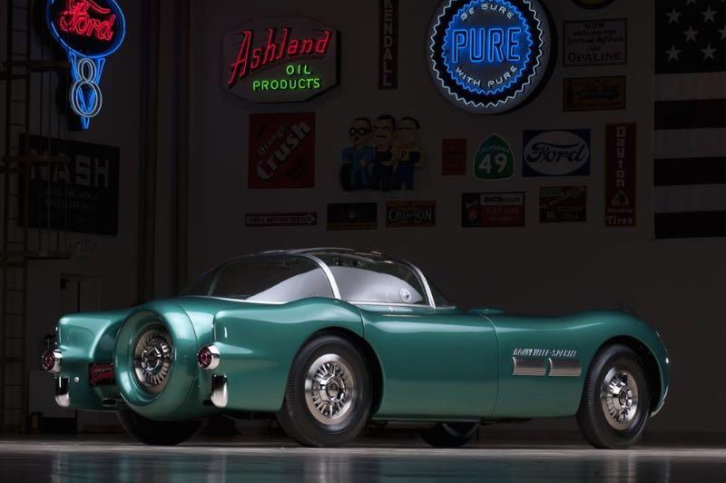 1954 Pontiac Bonneville Special Motorama Concept Car Rear