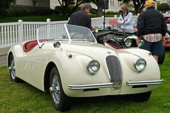 1954 Jaguar XK120M