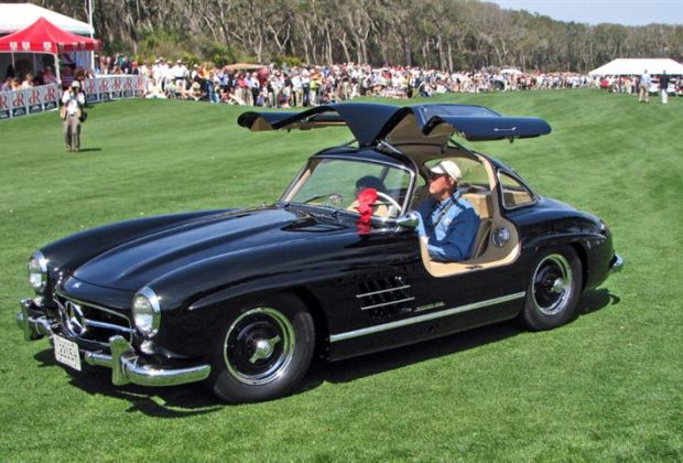 1954 Mercedes-Benz 300SL Gullwing,William Schiltz, Canton, OH