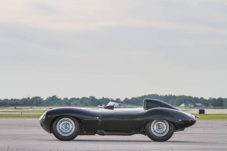 1955 Jaguar D-Type XKD530 Side
