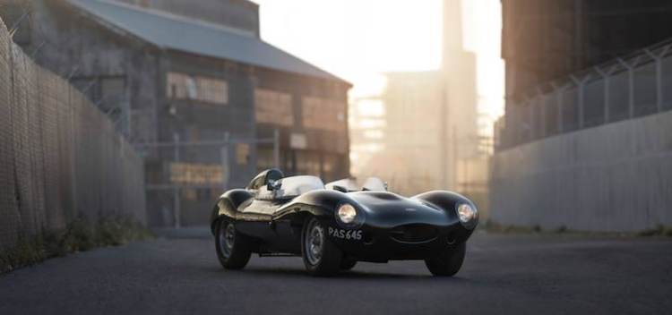 1955 Jaguar D-Type (photo: Patrick Ernzen)