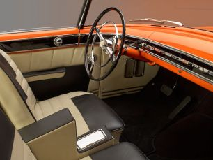 1955 Lincoln Indianapolis Boano Coupe Interior
