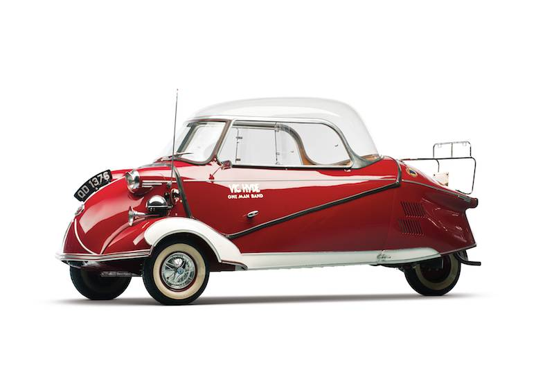 Sold Messerschmitt Kr200 3 Wheeler Microcar Auctions: RM Auctions Bruce Weiner Microcar Museum