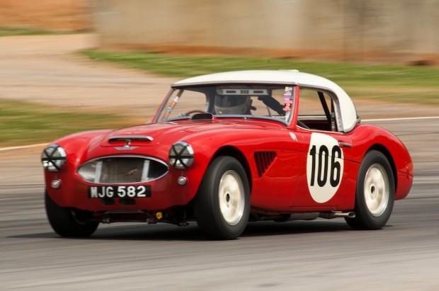 1957 Austin-Healey 100-6 of Jim Greg