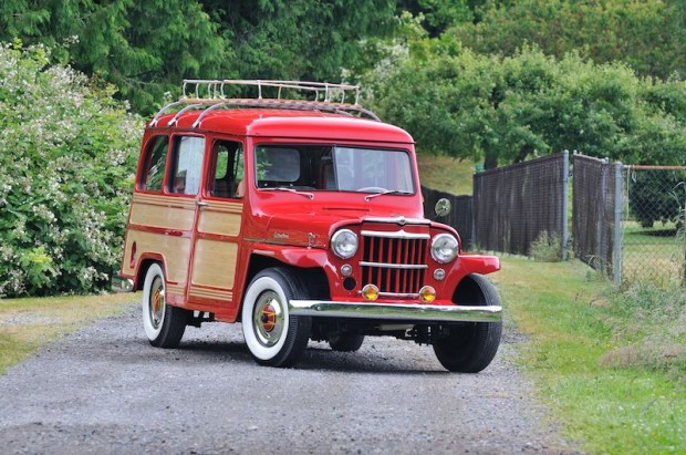 1957 Willys Jeep 6-226 Wagon