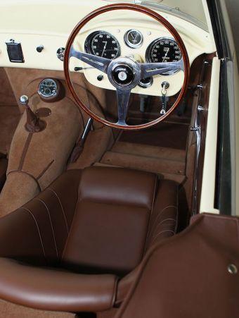 1957 Maserati 150 GT Spider Prototype Interior