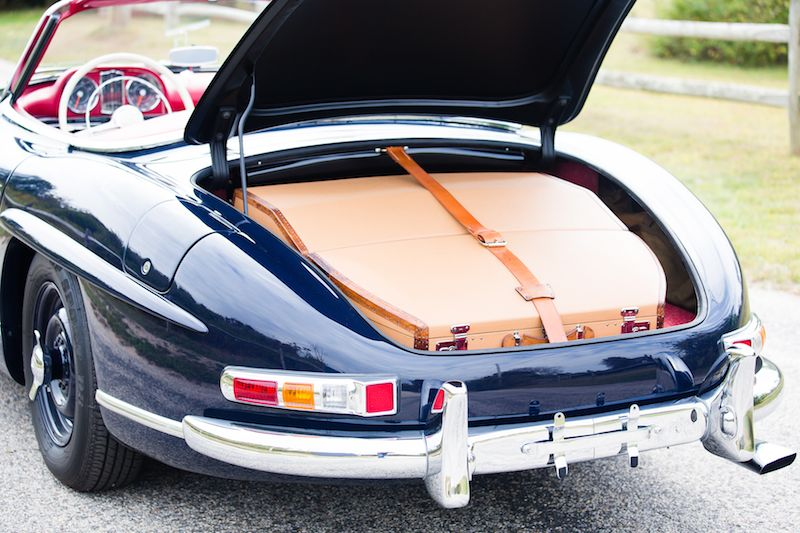 1957 Mercedes-Benz 300 SL Roadster Trunk