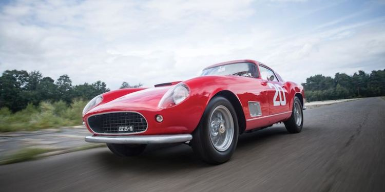 1958 Ferrari 250 GT Berlinetta Competizione Tour de France Motion