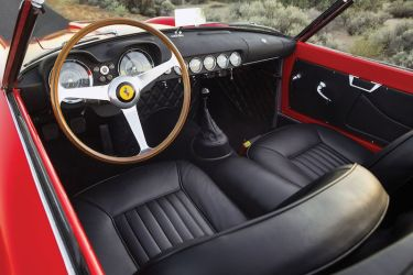 1958 Ferrari 250 GT LWB California Spider Interior