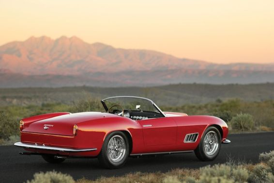 1958 Ferrari 250 GT LWB California Spider Rear